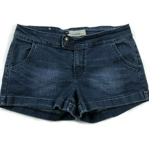 Vigoss 11 / 12 Blue Dark Wash Denim Jeans Shorts